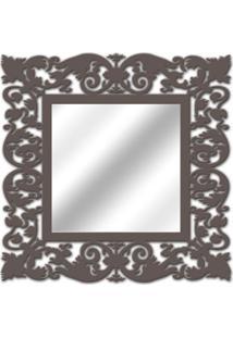 Espelho De Parede 14850I Marrom 70X70 Art Shop