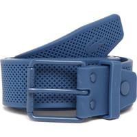 a51e7ad032204 Cinto Lacoste Texturizado Azul-Marinho