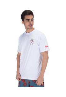 Camiseta Hurley Silk Jjf Aloha - Masculina - Branco
