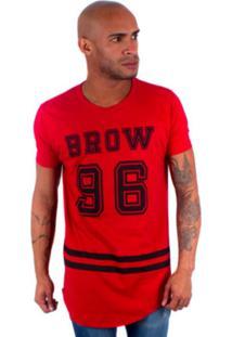 Camisa Rockstar Long Brow Vermelho