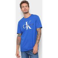 12bcf3b6b7f78 Camiseta Calvin Klein Estampa Logo Masculina - Masculino
