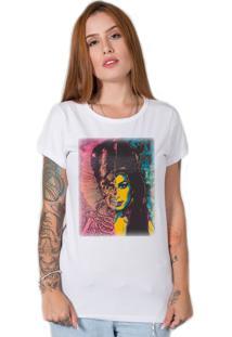 Camiseta Stoned Amy Winehouse Branco - Kanui