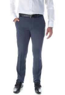 Calça 5561 Social Cinza Traymon Modelagem Slim