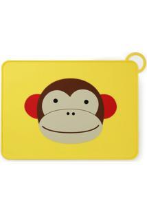 Jogo Americano Skip Hop Macaco - Unissex-Amarelo