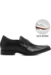 Sapato Social Couro Democrata Cosmo Taller - Masculino