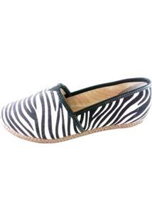 Alpargata Topgrife Suede Cellar Zebra