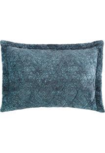 Porta Travesseiro Blend Fashion Signa - 50Cm X 70Cm Azul Altenburg