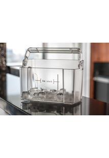 Balde De Gelo Organizador Transparente Para Refrigerador/Geladeira - Possui Alça Que Facilita O Transporte - Electrolux
