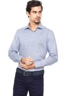 Camisa Aramis Manga Longa Menswear Azul