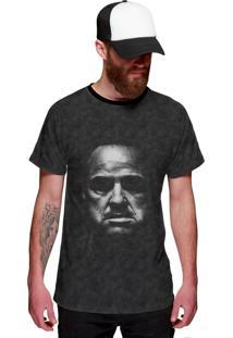 Camiseta Di Nuevo Poderoso Godfather Preta