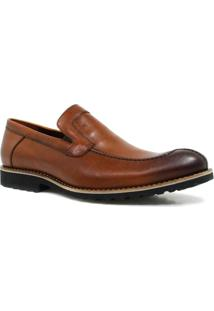 Sapato Zariff By Albanese Loafer - Masculino-Marrom