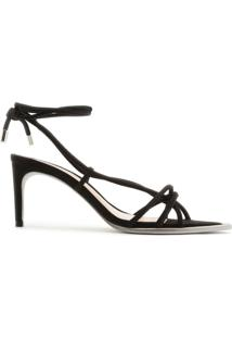 Sandália Strings Lace-Up 944 Black | Schutz