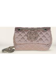 Bolsa Shoulder Bag Capodarte Vitello 4601866 - Feminino-Rosa