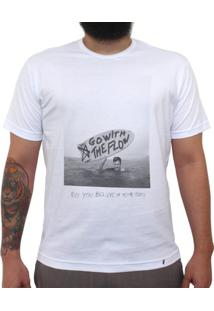 Go With The Flow - Camiseta Clássica Masculina