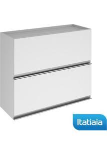 Módulo Cozinha Aéreo Clarice 2 Portas - Iph2-80 - Branco - Aço - Itatiaia