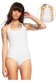 Body Calvin Klein Jeans Canelada Branco