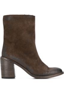 Marsèll Block Heel Ankle Boots - Marrom