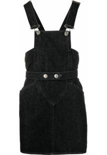 Isabel Marant Vestido Jeans - Preto