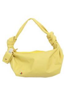 Bolsa De Mão Amarelo Citronela Legítimo Atz 12
