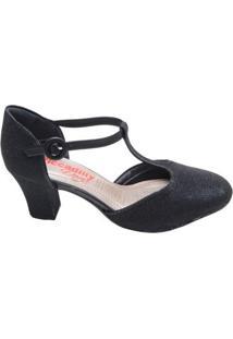 cf373c3e6 Supimpa Calçados. Sapato Feminino Salto Médio Piccadilly Preto
