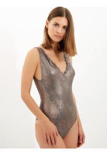 Body Bobô Carlota Roxo Feminino (Roxo, M)