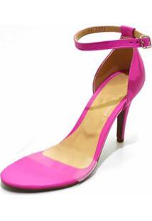 Sandália Salto Fino Gisela Costa Pink