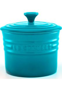 Porta Condimento Grande Azul Caribe Le Creuset