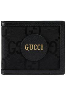 Gucci Carteira Off The Grid Gg Supreme De Canvas - Preto