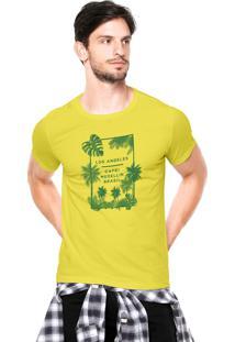 Camiseta Rgx La Capri Med Br Amarela