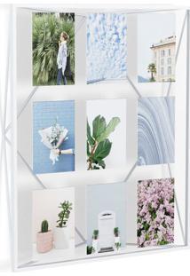 Porta-Retrato Prisma Multi Fotos 10X15 Branco