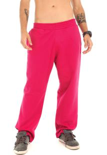 Calça Moletom Dhg Company All Pink