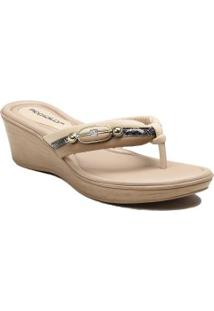 Chinelo Piccadilly Anabela Casual