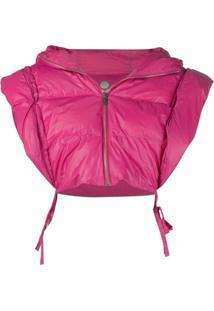 Isabel Marant Cropped Sleeveless Puffer Jacket - Rosa