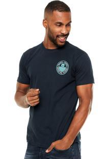 Camiseta Hang Loose Estampada Azul-Marinho