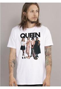 Camiseta Bandup! Queen I Want To Break Free - Masculino-Branco