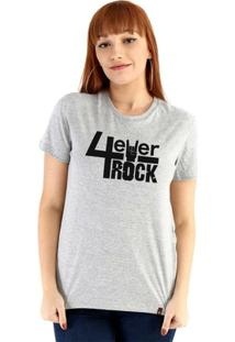 Baby Look Ouroboros Manga Curta 4Ever Rock - Feminino