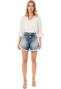 Bermuda Iodice Boyfriend Basica Jeans