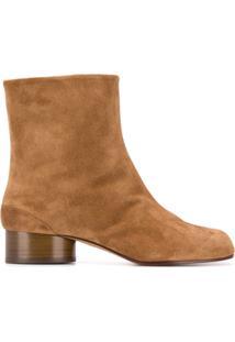 Maison Margiela Ankle Boot Tabi - Marrom