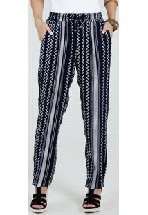 Calça Feminina Pijama Estampada Marisa