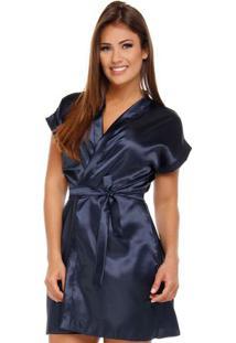 Robe Feminino Adulto Acetinado - Luna Cuore
