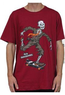 Camiseta Alfa Zumbi Bordo