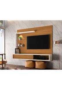 Painel Para Tv Até 50 Polegadas Frizz Select Naturale E Off White