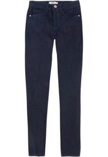 Calça Feminina Enfim Super Skinny Cintura Media Jeans - Feminino