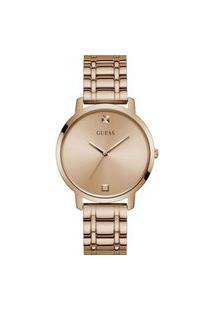 Relógio Analógico Guess Feminino - W1313L3 Rosa