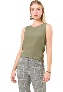 Regata Mx Fashion Viscose Lolita Verde Militar