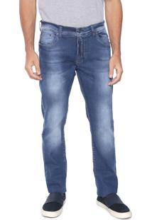 Calça Jeans Sergio K Reta Basic Azul
