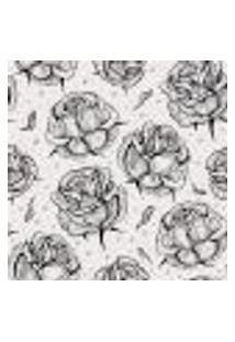 Papel De Parede Adesivo - Rosas - 130Ppf