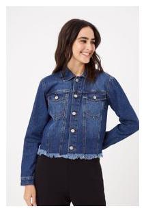 Jaqueta Vintage Silk Costas Jeans - M