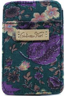 Carteira Para Cartão Heracles Orchid Em Patchwork Original