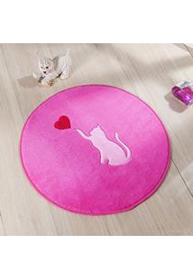 Tapete Guga Tapetes Formato Gato Love 0.65M Ø Pink